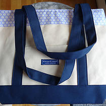 Vineyard Vines Custom Collection Canvas Tote Bag - Nwot Photo