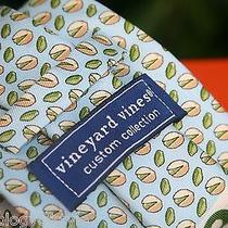 Vineyard Vines Custom Collection Men's Fine Twill Silk Tie Ltd Ed.   Photo