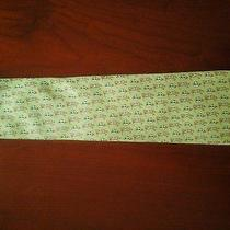 Vineyard Vines Custom Green Novelty Silk Tie Photo