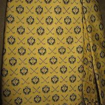 Vineyard Vines Custom Yellow / Green Golf Custom Necktie Tie Memorial Club Photo