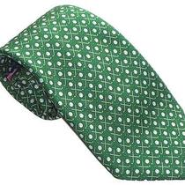 Vineyard Vines Dark Green Golf Clubs & Ball Silk Tie Nwt Photo