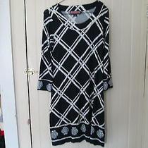 Vineyard Vines Dress Small S Scallop Shell Bamboo Rayon Spandex Long Photo