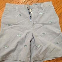 Vineyard Vines Embroidered Fish Shorts. Size 7 Photo