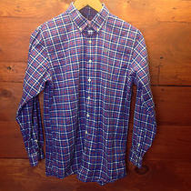 Vineyard Vines Excellent Condition Blue Red Plaid Check Whale Shirt Size Xl (20) Photo