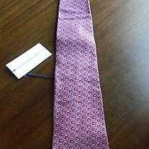 Vineyard Vines Fish Fishing Fly Reel Reels Men's Pink & Blue Tie New W/tags Photo
