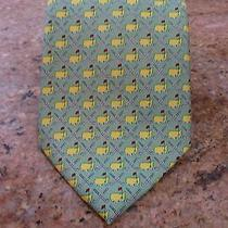 Vineyard Vines for Augusta National Golf Club 100% Silk Tie Hand Made in Usa Photo