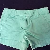 Vineyard Vines Girls 6 Mint Green Shorts  Photo