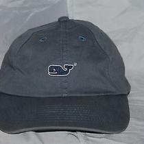 Vineyard Vines Gray Grey Cotton  Hat Photo