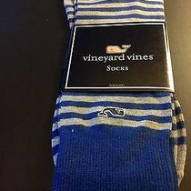 Vineyard Vines Gray Striped Socks Photo