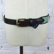 Vineyard Vines Green/blue/navy/brown/white Graphic Belt  24 Photo