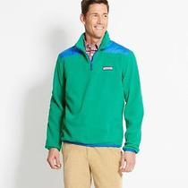 Vineyard Vines Holly Fleece Shep Shirt Outerwear Green Nwt Small Photo