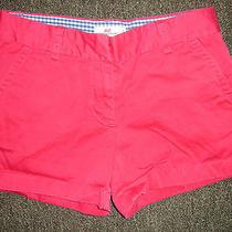 Vineyard Vines Hot Pink Girls Cotton Mini Shorts Size 10  Photo
