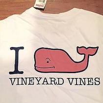 Vineyard Vines Iwhale Vv T-Shirt Size L Photo
