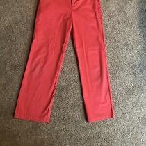 Vineyard Vines Jetty Red Flat Front Boys Cotton Chino Pant Sz 18 Euc  2 Bonuses Photo
