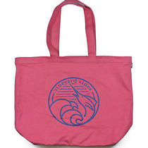 Vineyard Vines Jetty Red Marlin Wave Graphic Cotton Canvas Tote Carryall Bag New Photo