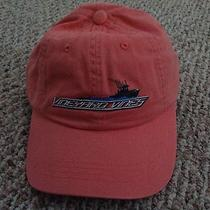 Vineyard Vines Jetty Red Speeding Boat Whale Cap/hat  Spring Summer Nwt Photo