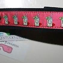 Vineyard Vines Kentucky Derby Horseshoes Mint Julep Club Belt New Size 36 Berry Photo
