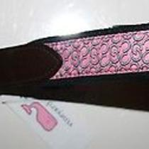 Vineyard Vines Kentucky Derby Mens Horseshoes Club Belt New Size 34 Pink 1a0481 Photo
