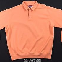 Vineyard Vines Marthas Orange Pullover Sweatshirt Polo Shirt Creamsickle 30595 Photo