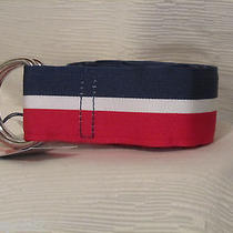 Vineyard Vines Men's Medium-Red White & Blue Belt-Pairs Well With Pants or Hat Photo