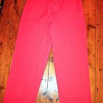 Vineyard Vines Men's Red Twill Club Chino Pants- Size 36/30- Retails 80 Photo