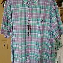 Vineyard Vines Men's Shirt Sleeve Button Down Xl Brand New With Tags Photo