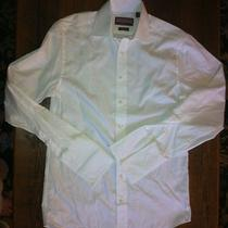 Vineyard Vines Men's White 2 Ply French Cuff Dress Shirt- Size 15l- Retails 99 Photo