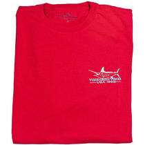 Vineyard Vines Mens Graphic T Ss Shirt Cotton Marlin Lighthouse Red Xl New Photo
