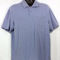 Vineyard Vines Mens Polo Shirt Size L Short Sleeve Blue Chest Pocket Photo