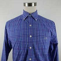 Vineyard Vines Mens Slim Fit Tucker Ls Button Down Blue Pink Plaid Dress Shirt M Photo