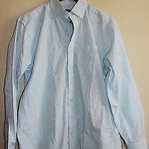 Vineyard Vines Murray Classic Fit Check Poplin Sport Shirt Button Down Blue M Photo