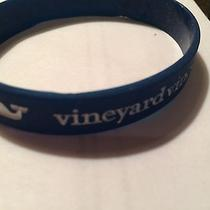 Vineyard Vines Navy Blue Logo Bracelet Nwot Photo