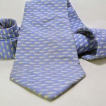 Vineyard Vines Necktie - Blue Fish Pattern Photo