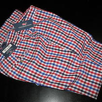 Vineyard Vines New Flag Check Spinnaker Slim Breaker Pants 34 Waist 34x34 Photo
