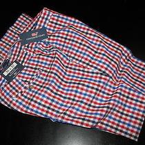 Vineyard Vines New Flag Check Spinnaker Slim Breaker Pants 34 Waist 34x34 Photo