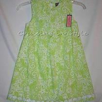 Vineyard Vines New Girls Dress Sz 5 Party Flower Girl Wedding Dress Green 129 Photo