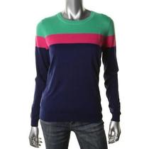 Vineyard Vines New Green Colorblock Long Sleeves Pullover Sweater Top S Bhfo Photo