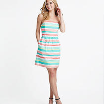Vineyard Vines Painted Stripe Strapless Dress Size 4 Photo
