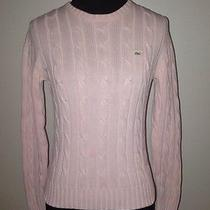 Vineyard Vines Pink Cable Knit Sweater Photo