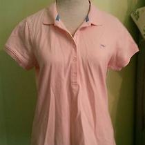Vineyard Vines Pink Polo Golf Shirt Sz M Women's Excellent Condition Photo