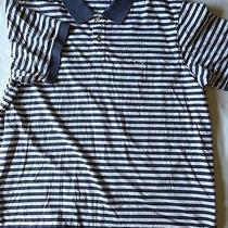Vineyard Vines Polo Shirt Size Xl Blue Stripes Photo