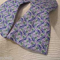 Vineyard Vines Sailboat Geo Design Purple Bow Tie-Pairs Well With Hat or Sticker Photo