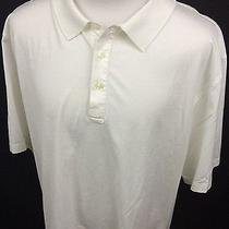 Vineyard Vines Shep & Ian White Ss Polo Shirt Men's Xl Mercerized Cotton Euc Photo