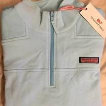 Vineyard Vines Shep Shirt Embroidered Dolphin Blue Size Large Photo