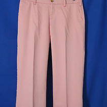 Vineyard Vines Size 4 Cape Cod Capri Cropped Pants Pink Photo
