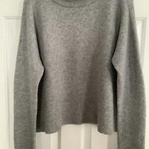 Vineyard Vines Size Xl Gray Mock Neck Pullover Sweater Wool Blend Photo
