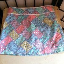 Vineyard Vines Skirt Size 8 Fish/sailboat/star Fish Pattern Photo