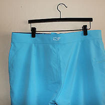 Vineyard Vines Stretch Board Shorts Boathouse Blue 38 Swimming Trunks Beach New Photo