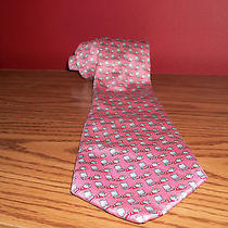 Vineyard Vines Tie - Pink W/lounge Chair & Cooler Graphics - 60