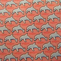 Vineyard Vines Tie Pink With Dolphins  Photo